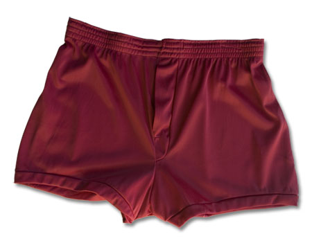 Men's Nylon Tricot Boxer Shorts: Player's Brand