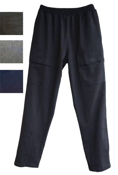 Men's Full Elastic Waist Stretch Fleece Cargo Pant