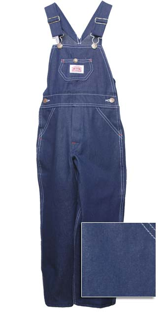 Roundhouse Children's Dark Blue Denim Overalls