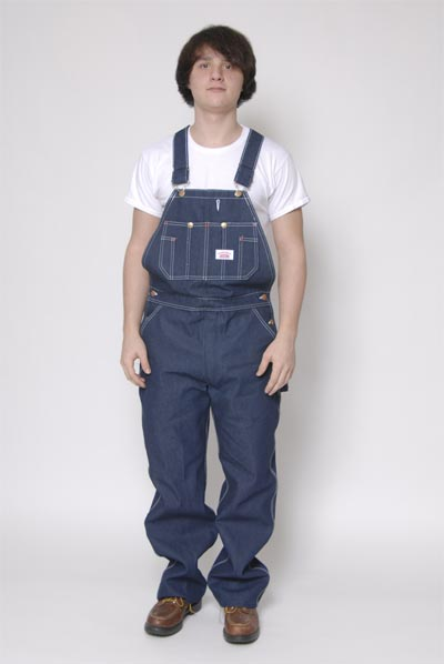 Round house denim low back overalls - Roundhouse bib overalls ...