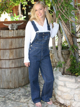 Women s Walls Bib Overalls - Vintage-Wash Denim